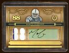 2006 TREASURES MARVIN HARRISON AUTO # 88 DUAL PATCH LOGO RARE FIND COLTS LEGEND