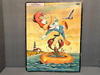 VINTAGE FRAME TRAY INLAID PUZZLE WOODY WOODPECKER WHITMAN PUBLISHING 1959 USA