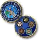 US Strategic Command Challenge Coin USSTRATCOM Offutt Air Force Base Nebraska NE