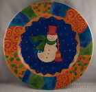 Sango POTPOURRI Frosty Magic Spell Round Chop Serving Platter Tray