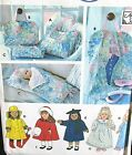 Andrea Schewe Doll clothes pattern raincoat nightgown sleeping bag tote garment