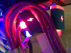 FLASH LED BRAID LIGHT-UP Data Sync Cable charger FOR Apple iphone 4S ipod nano 6