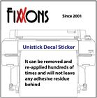 Decal Sticker FX100 Block Out Eco solvent 24 x 50