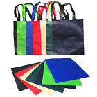 50 Lot Plain Reusable Grocery Shopping Totes Bag Bags Recycled Wholesale Bulk