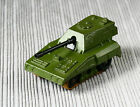 Vintage 1976 England Matchbox Rolamatics No70 SP GUN Military Army Diecast Tank-