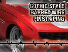Barbedwire Pinstriping - Gothic Style 4 Ford,Dodge,Chevy, SILVER color