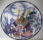 Antique Japanese Dragon flower Plate 20th Century 13