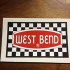 West Bend Vintage Engine Decal Go Kart Mini Bike