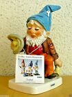 GOEBEL CO-BOY FIGURINE 17 555-16 HOMER THE BAD DRIVER TM6 GNOME W.GERMANY MINT