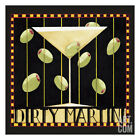 Dirty Martini II Art Poster Print by Dan Dipaolo, 13x13