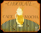 Cafe Mocha in Caramel Art Poster Print by Dan Dipaolo, 10x8