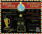 Global Cafe I Art Poster Print by Dan Dipaolo, 10x8