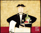 Dinner at Eight Art Poster Print by Dan Dipaolo, 10x8