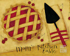 Mom's Kitchen Table Art Poster Print by Dan Dipaolo, 10x8