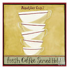 Another Cup II Art Poster Print by Dan Dipaolo, 13x13