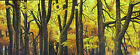 ART OIL PAINTING ABSTRACT Australia TASMANIA TREE FOREST landscape