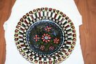 Vintage Hand Made Art Pottery Bowl Dish Stamped Made in Hungary HWMM