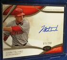 2014 Tier One MARK TRUMBO Acclaimed On Card AUTO Autograph #075 299 DIAMONDBACKS