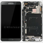 US OEM Samsung Galaxy Note 3 N900T LCD Touch Digitizer Screen Home Button Frame
