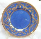 WEDGWOOD LAPIS BLUE GOLD LUNCHEON PLATE S 9