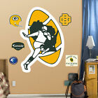 NFL Green Bay Packers Classic Logo Fathead Wall Graphic