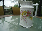Vintage Porcelain German CT Floral Pitcher Signed & Numbered