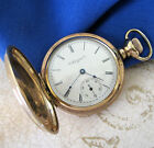 Antique 10k Gold Plated ELGIN Dueber POCKET WATCH 1899