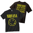 NIRVANA T Shirt Smiley Face Logo OFFICIALLY LICENSED New Authentic S 2XL