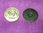 AA ~ 26 Years ( XXVI ) Anniversary Alcoholics Anonymous ~ New Bronze Medallion