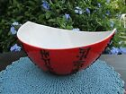 Alvino Bagni for Raymor bowl Piped Lava Asian Decor Stunning Color Italy
