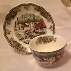 Johnson Brothers Friendly Village Cup And Saucer Ice House