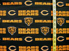 NFL CHICAGO BEARS 100%  COTTON FABRIC  FAT  QUARTER 18X29 INCHES