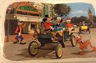 Vintage 1964 Walt Disney Productions Disneyland Main St Placemat Mickey Donald