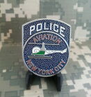 NEW YORK POLICE DEPT NYPD AVIATION UNIT LAW ENFORCEMENT CUT-OUT CHALLENGE COIN