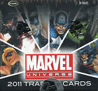 Marvel Universe 2011 Sealed Card WAX BOX 24 Count