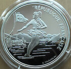 Silver proof 100 Francs France 1989, 22.2 grams, Winter Olimpic Games, skating