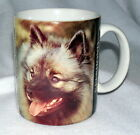 XPRESS DOG Mug KEESHOND COFFEE MUG Cup EUC Barbara Augello 1994