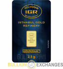 2.5 gram Istanbul Gold Refinery Bar Fine .9999 (In Assay)