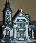 Heartland Valley Village Deluxe Porcelain Lighted House Collectible Edition Uniq