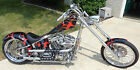 Custom Built Motorcycles : Chopper Custom soft tail Chopper - Paul Yaffe