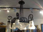 1920 FRENCH  DECO SIGNED DEGUE  CEILING LIGHT / FIXTURE