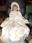 William Tung porcelain Christening doll