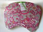 Vera Bradley Lap Top Portable Desk Pad Pink Paisley Plaid Retired Dorm Office