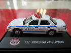 NYPD NYC New York City Police 1:87 Ford Crown Victoria HO Scale DIECAST 2005 P71