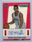 2013-14 Ray McCallum Panini Prizm #29 RED REFRACTOR AUTO RC #D 28 99 (G63)