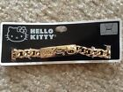 Hello Kitty Choker Gold Plated Chain ID Necklace Collar NWT Fashion Jewelry