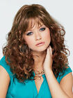 Brown Shoulder Length Full-Volume Curls HWoman's Medium Wig