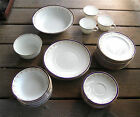 HEATHCOTE China English Pembroke Bridehood bowls plates cups saucers bowls 4902