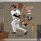 MLB Buster Posey Fathead Wall Graphic 2 - White Jersey