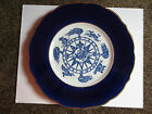 Syracuse China Decorative Plate Blue with Gold Trim (1967) 96-L Compass